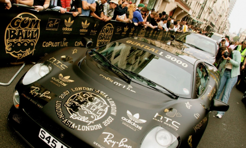 Gumball 3000 anno 2012