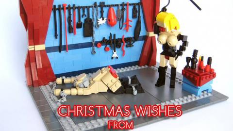 Stockholmsveckan önskar God Jul & a.k.a man blir aldrig för gammal för lego!