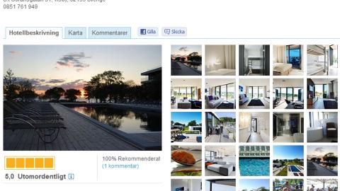 Boende Visby Stockholmsveckan: Tott Hotel Visby