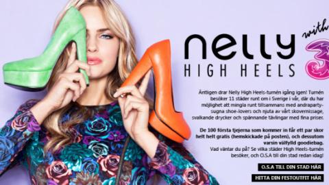 Nelly High Heels Winter Tour