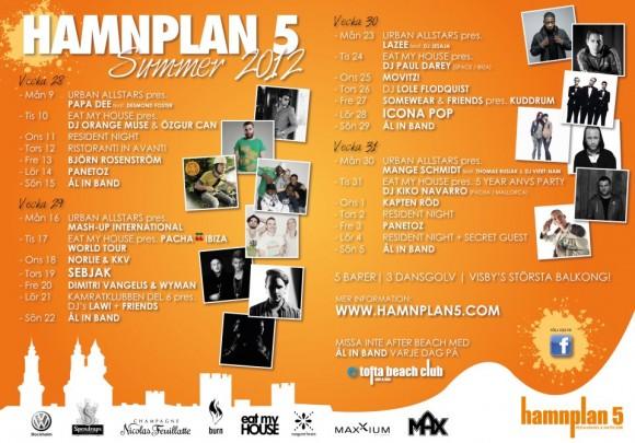 Hamnplan 5 sommaren 2012