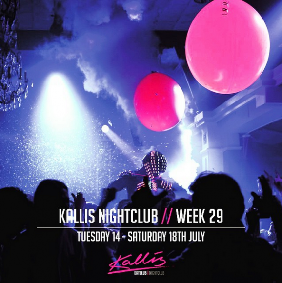 Kallis Pop Up Nightclub