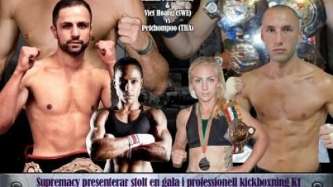 Kickboxningsgala – Visby – 11 juli
