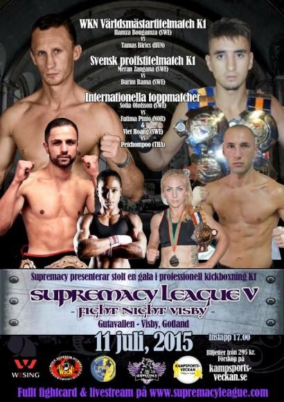 Kickboxningsgala - Visby - 11 juli